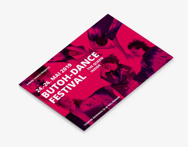 Gestaltung für das Butoh & Dance Festival